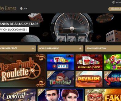 avis casino lucky games